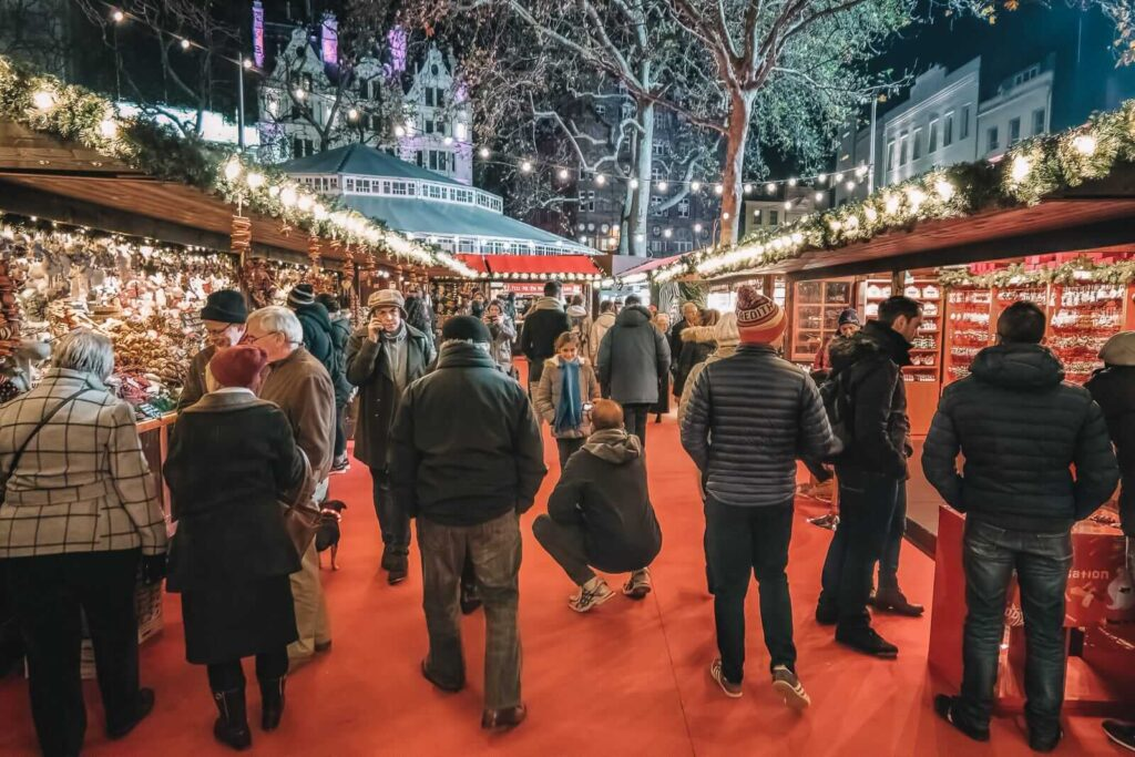 Leicester Square julemarked London